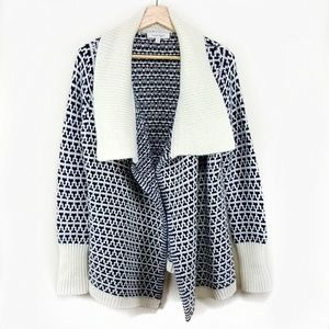 Ellen Tracy Sweater Cardigan Jacket Blazer Tweed